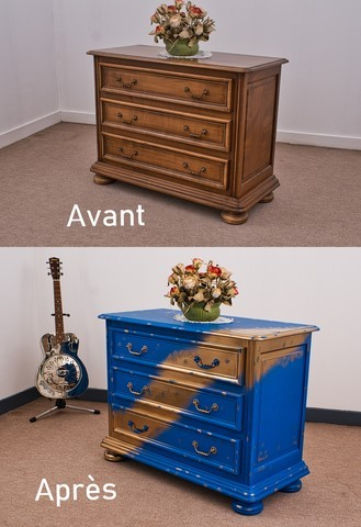 Relooking d'une commode